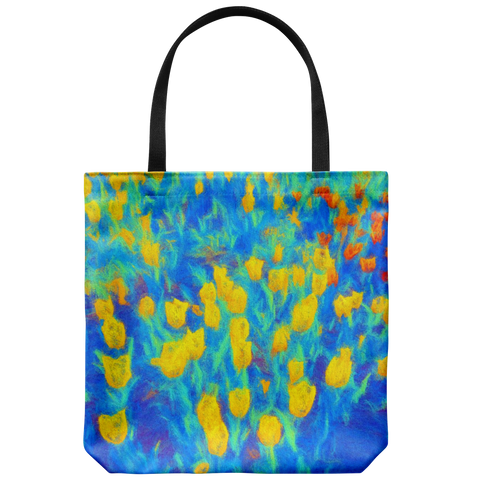 """Air Brush"" Large Tote Bag"