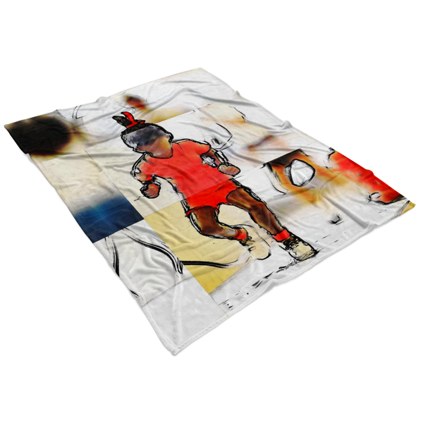 """Double Dutch Queen"" Fleece Blanket"