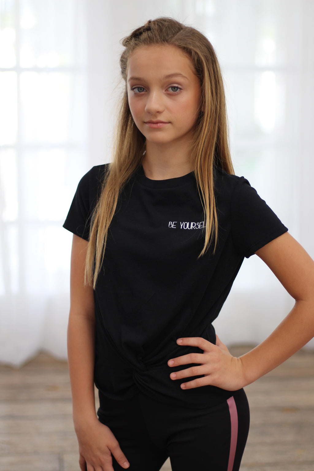 Girls Be Yourself Tee