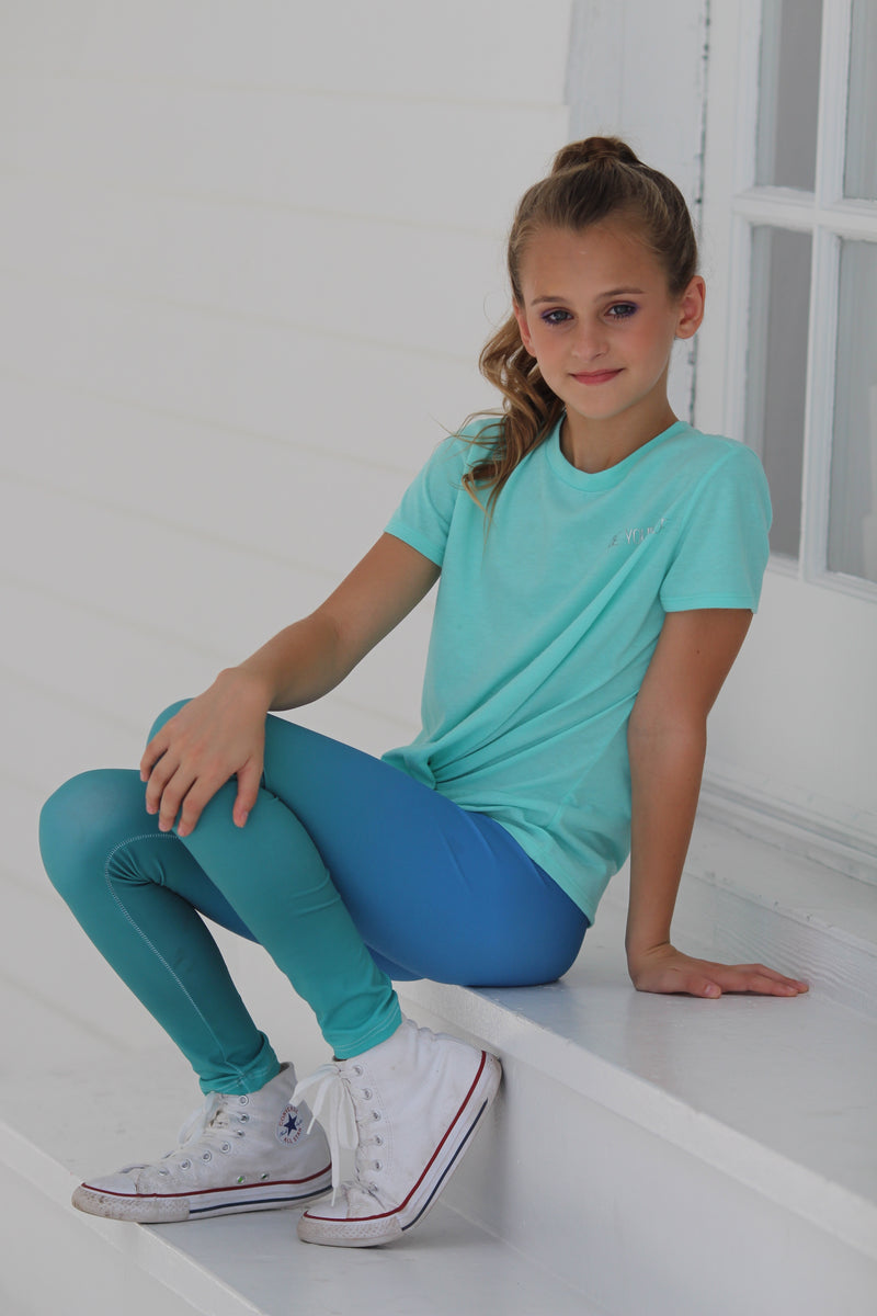 Girl's Ombre Leggings