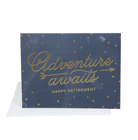 Adventure Retirement Card