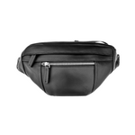 August Raw Genuine Leather Fanny Pack