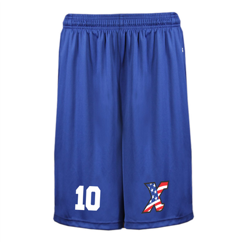XTREME Shorts Blue with Pockets
