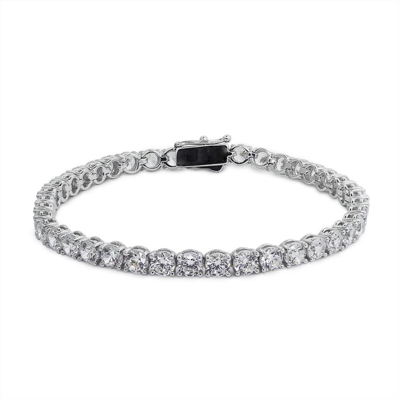 9.5ct. Eq. Round Brilliant Tennis Bracelet