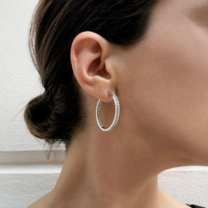 Serenity Double-sided Hoops