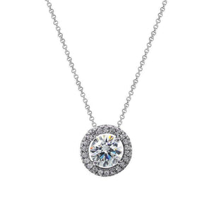 Gwen Round Borderset Necklace W