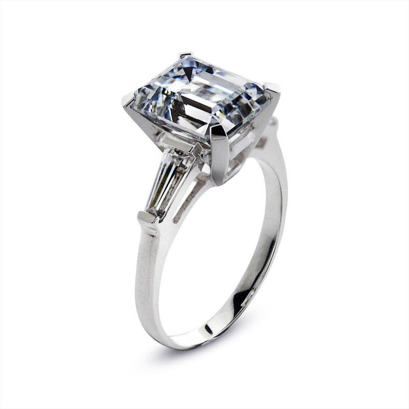 Magnificent Emerald Cut