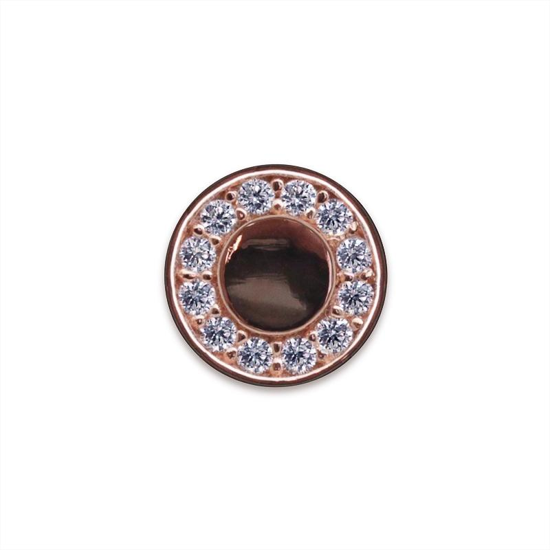Halo Stud Rose Gold