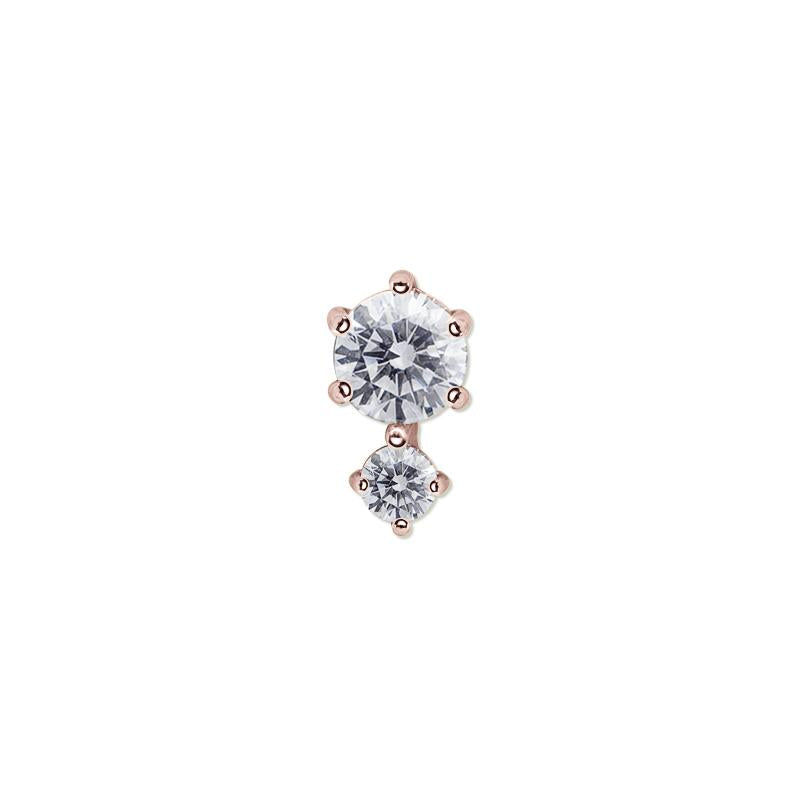 Ume Stud in Rose Gold