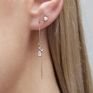 Audra Earring in Rose Gold