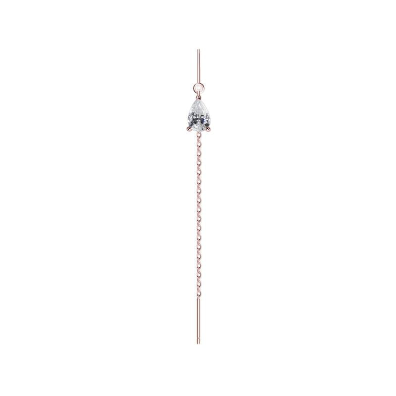 Veda Drop Earring in Rose Gold