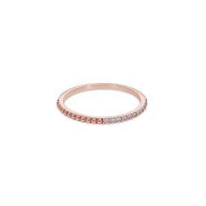 9K Rose Gold Ring