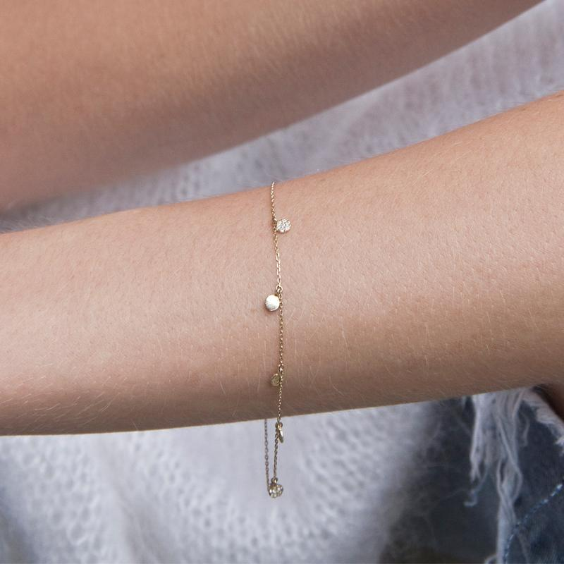 Iman Bracelet in Rose Gold