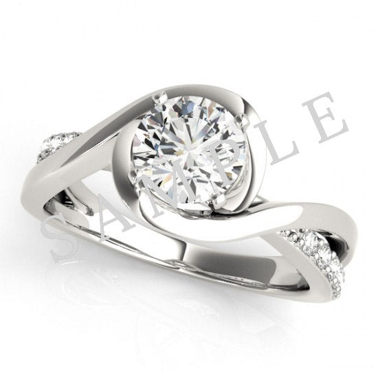 Aria Ring 1.05ct 18K White Gold