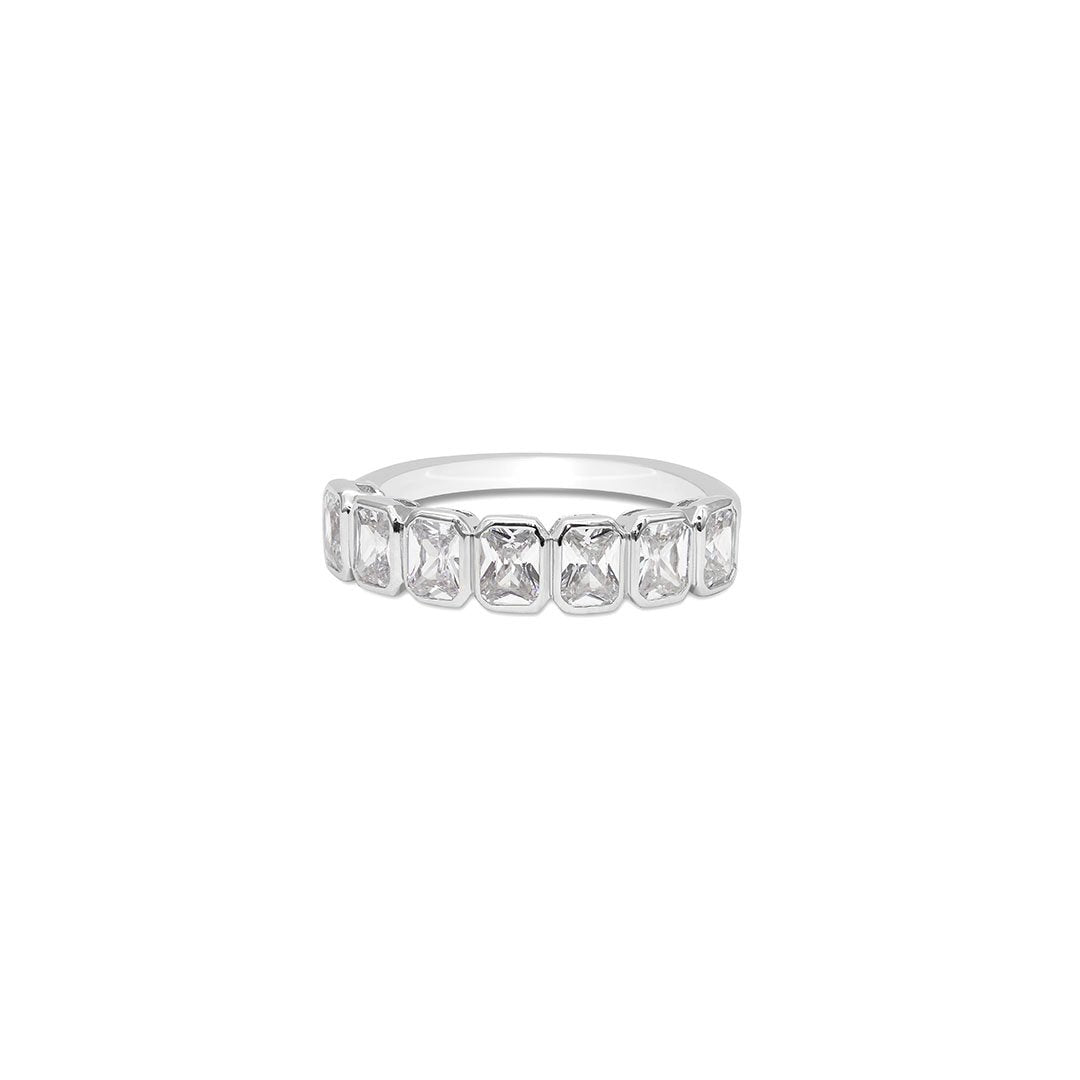 Cassidy Emerald Line Ring