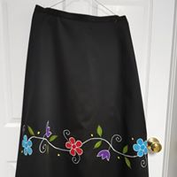 Load image into Gallery viewer, Adult's ribbon skirt