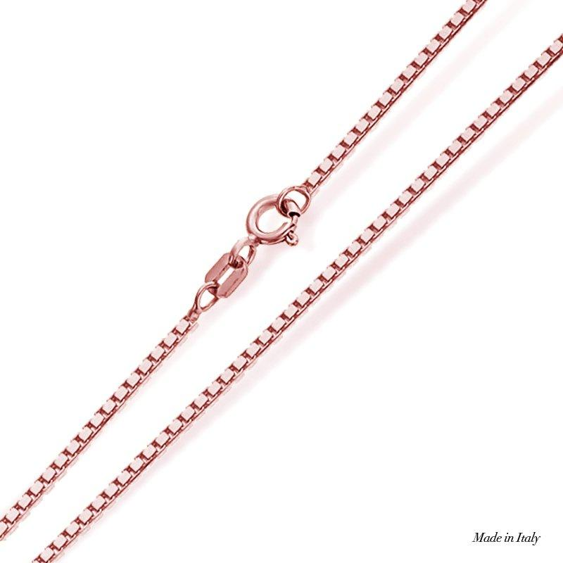 9k Rose Gold Box Chain