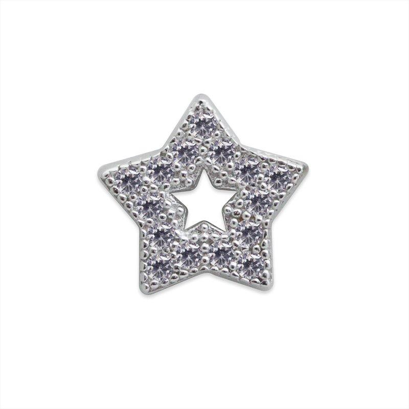 Star Cut-Out Stud