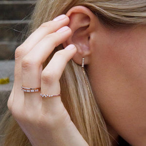 Leda Ring in Rose Gold