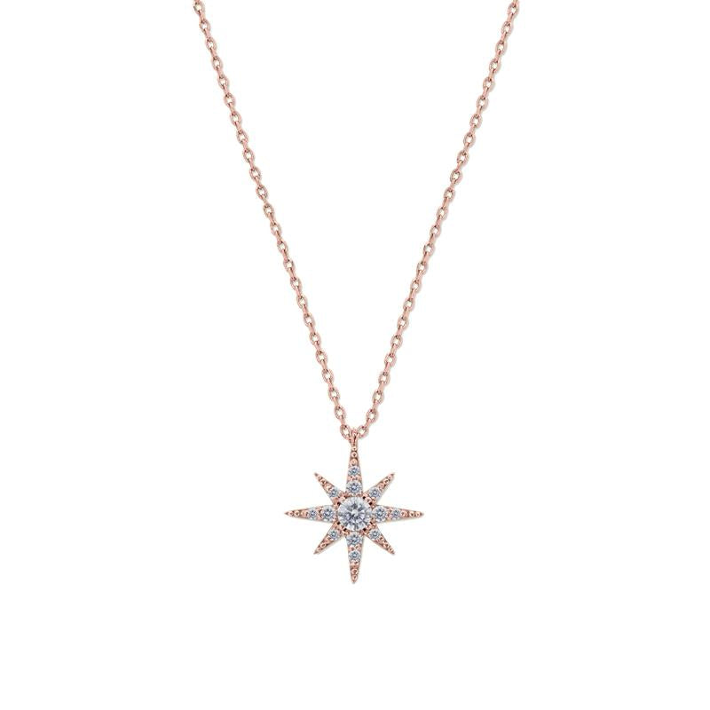 Polaris Pendant in Rose Gold