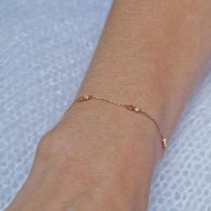 Rumi Bracelet in Rose Gold