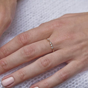 Isa Ring in Rose Gold
