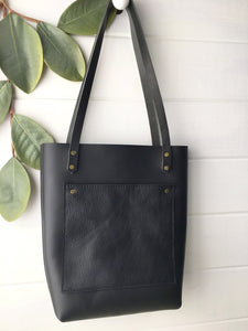 Magnolia Tote - Small- Front Pocket