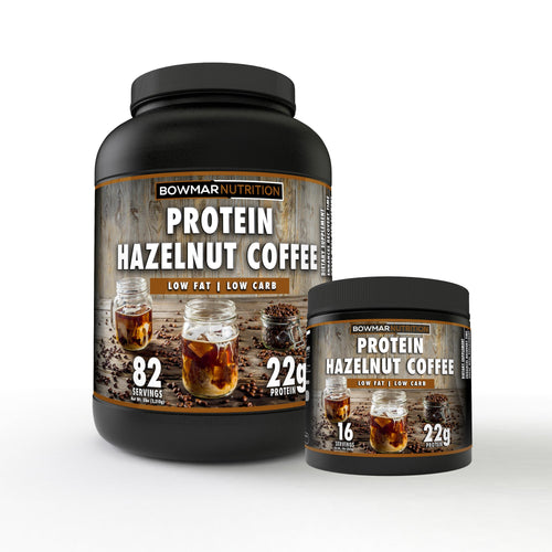 Bowmar Protein - Hazelnut Coffee 5lb