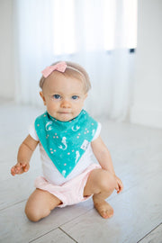 Coral Single Bandana Bib