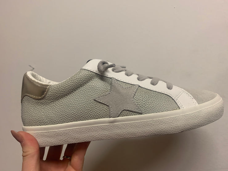 Flair Silver Multi Sneakers