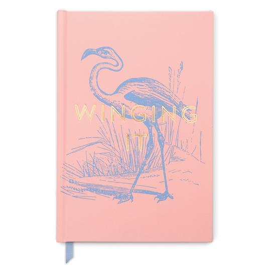 Vintage Sass Soft Touch, Hardcover Journal