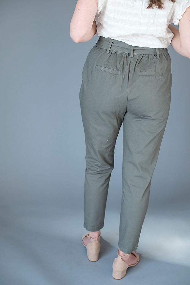 Silver Copper Pleated Skirt