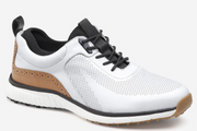 White Luxe Hybrid Golf Shoes
