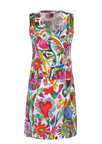 Dolcezza Floral Moto Dress 21625