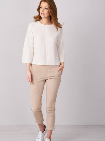 Repeat Luxury Cotton Sweater 400338