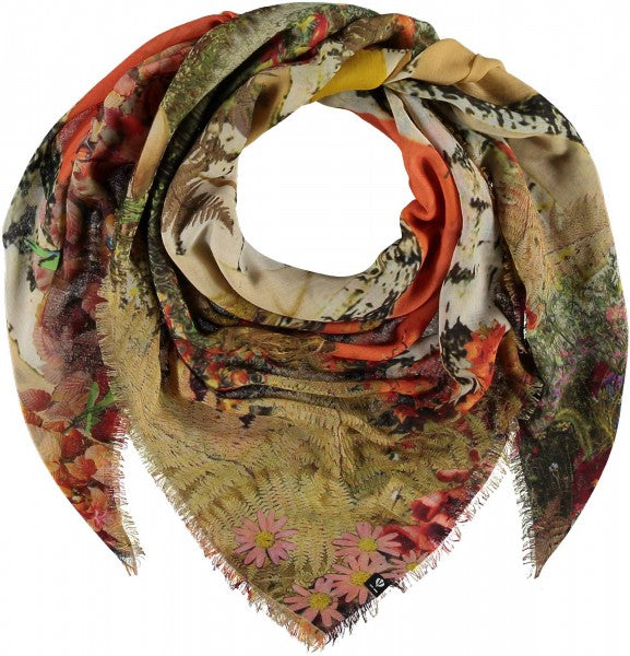 Fraas Think Floral Scarf 602012