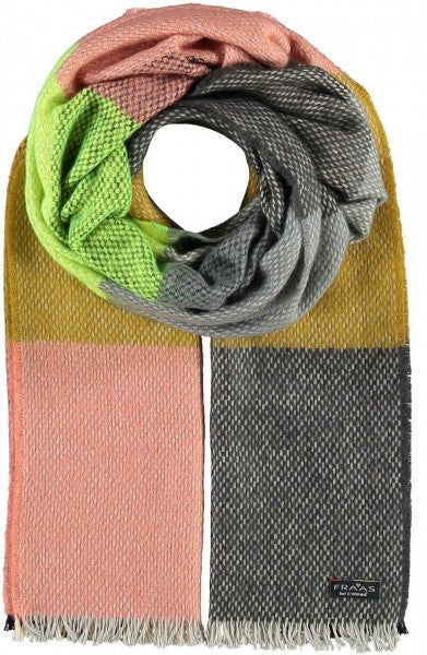 Fraas TH!NK Colour Block Scarf 625470