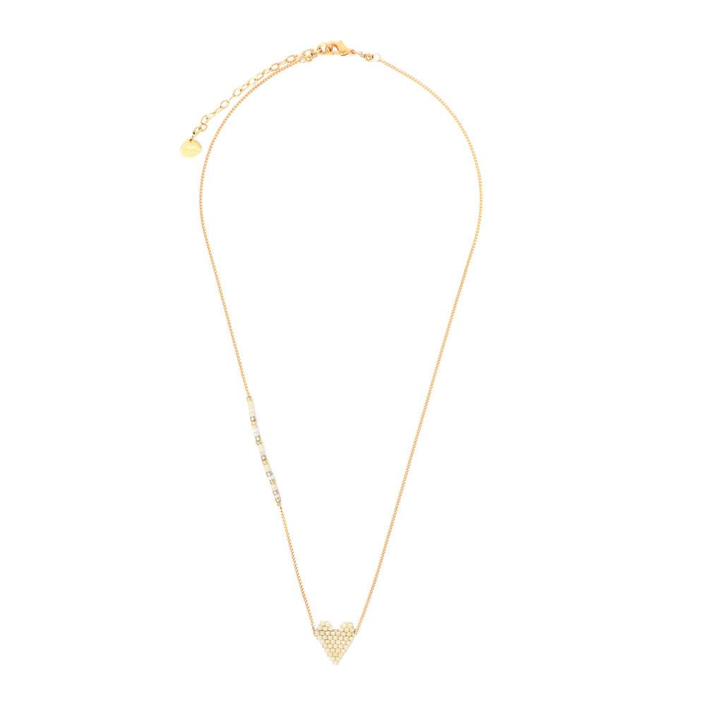 Mishky Heartsy Necklace 113-7590- Gold