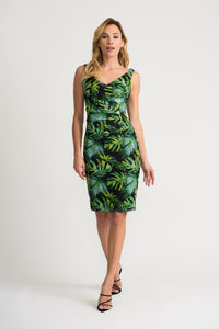 Joseph Ribkoff Palm Dress 202302