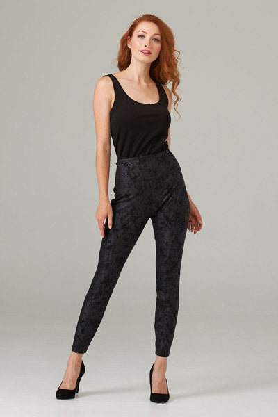 Joseph Ribkoff Pleather Leggings 203381
