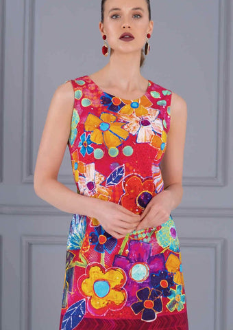 Dolcezza Vibrant Dress 21696