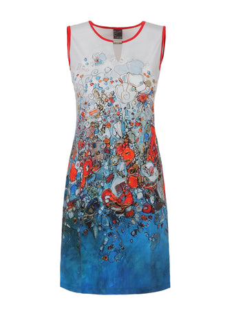 Dolcezza Abstract Art Dress 21734