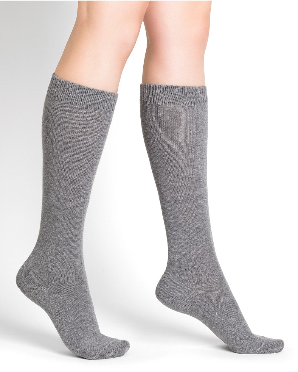 Bleuforêt Knee High Cashmere Socks 6198