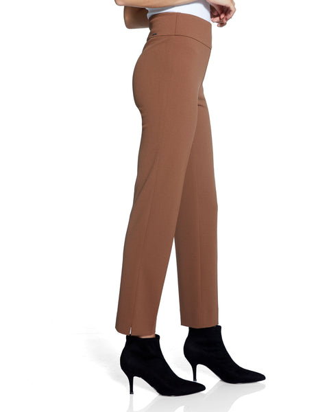 Up! Slim Side Vent Crepe Pant 67052