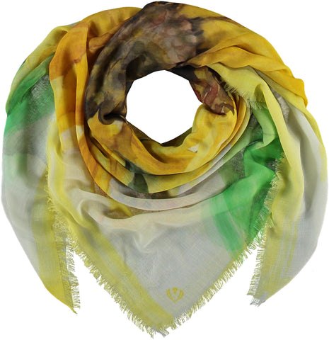 Fraas TH!NK Sunflower Scarf 602034
