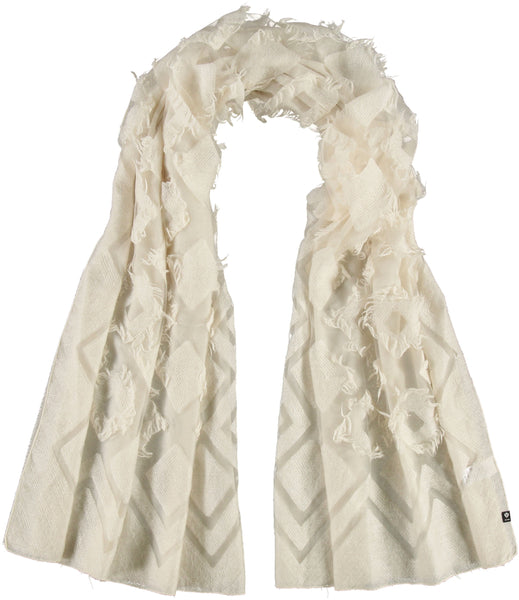 Fraas Clipped Diamonds Scarf 623518