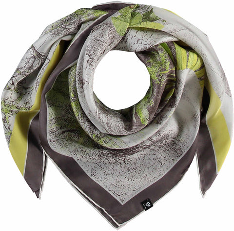 Fraas Hidden Tiger Silk Scarf 632006
