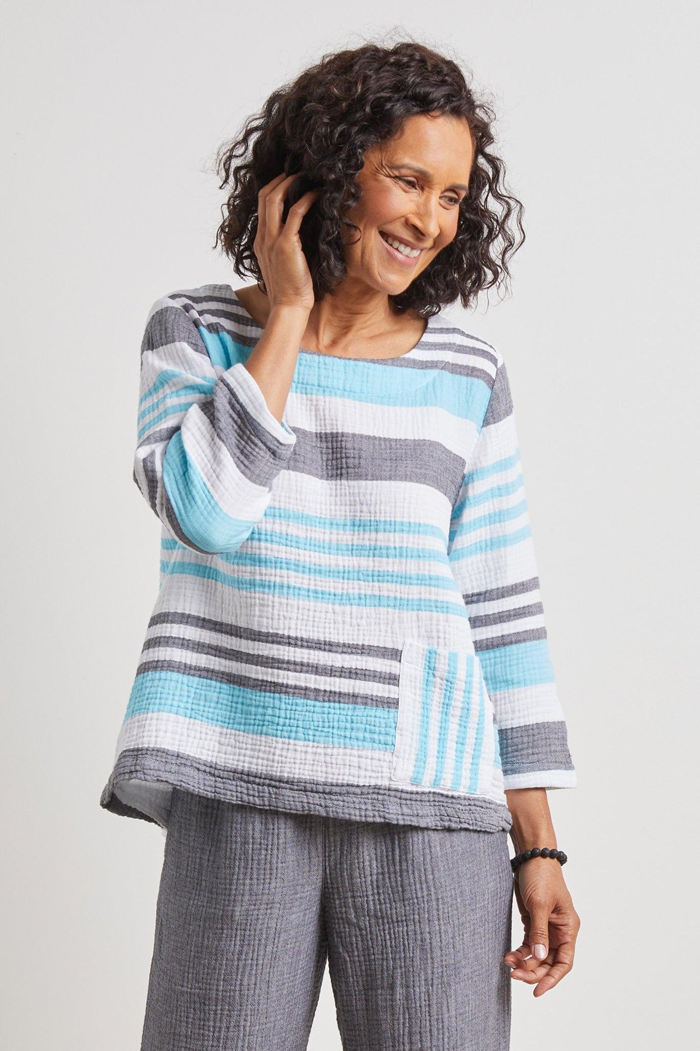 Habitat Stripe Pocket Top 74829