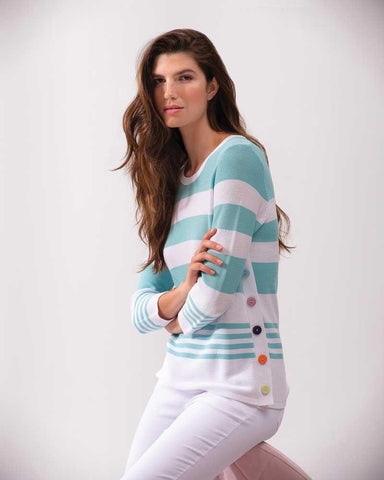 Alison Sheri Cheerful Striped Sweater A37141