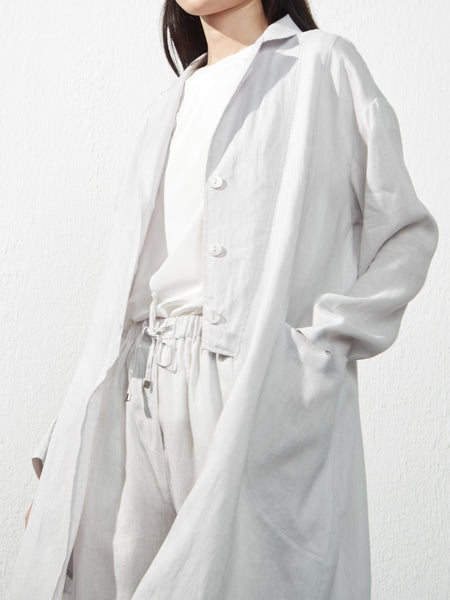 Uchuu Long Linen Jacket CS20-403